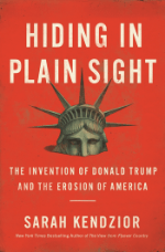 Book cover of Hiding in Plain Sight by Sarah Kendzior