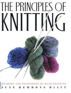 Cover of the 1st edition of Principles of Knitting